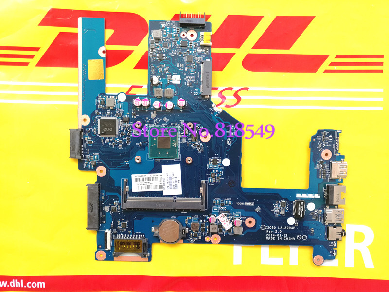 LA-A994P for HP Compaq 15 15-R 15T-R 15-s laptop motherboard 788289-501 ZS050 LA A994P Mainboard 90Days Warranty 100% tested