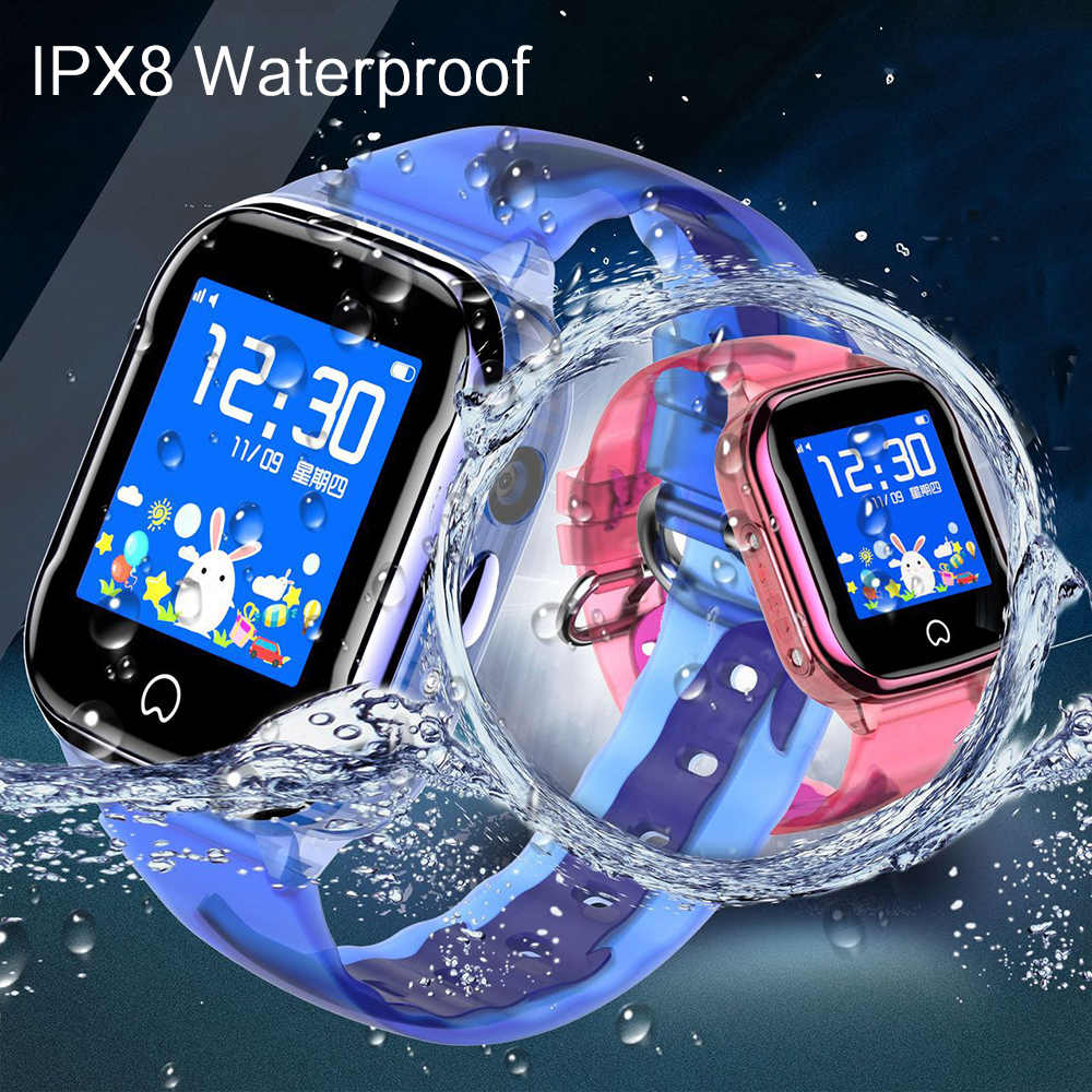 K21 Children Smart Watch 2019 New IP67 Waterproof LBS SOS Phone SmartWatch with GPS Clock with SIM Card for IOS Android Watch