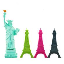 Cartoon Eiffel Tower, Statue of Liberty Shape USB Flash Drive Pen Drive Memory Stick Pendrive 4GB 8GB 16GB 32GB 64GB U Disk