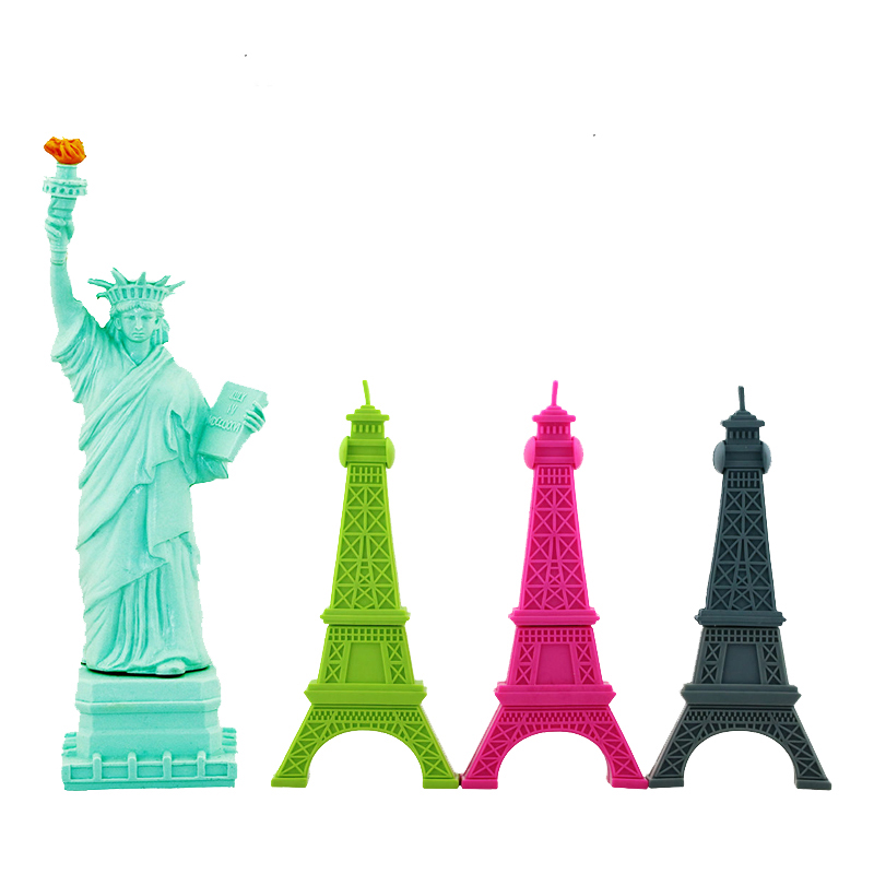 Cartoon Eiffel Tower, Statue Of Liberty Shape USB Flash Drive Pen Drive Memory Stick Storage Pendrive 4GB 8GB 16GB 32GB U Disk