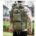 65L Мужчины Военный Рюкзак Большой Емкости Женщины Альпинизм Рюкзак Водонепроницаемый Армии Большие Туристические Рюкзаки Сумка X615