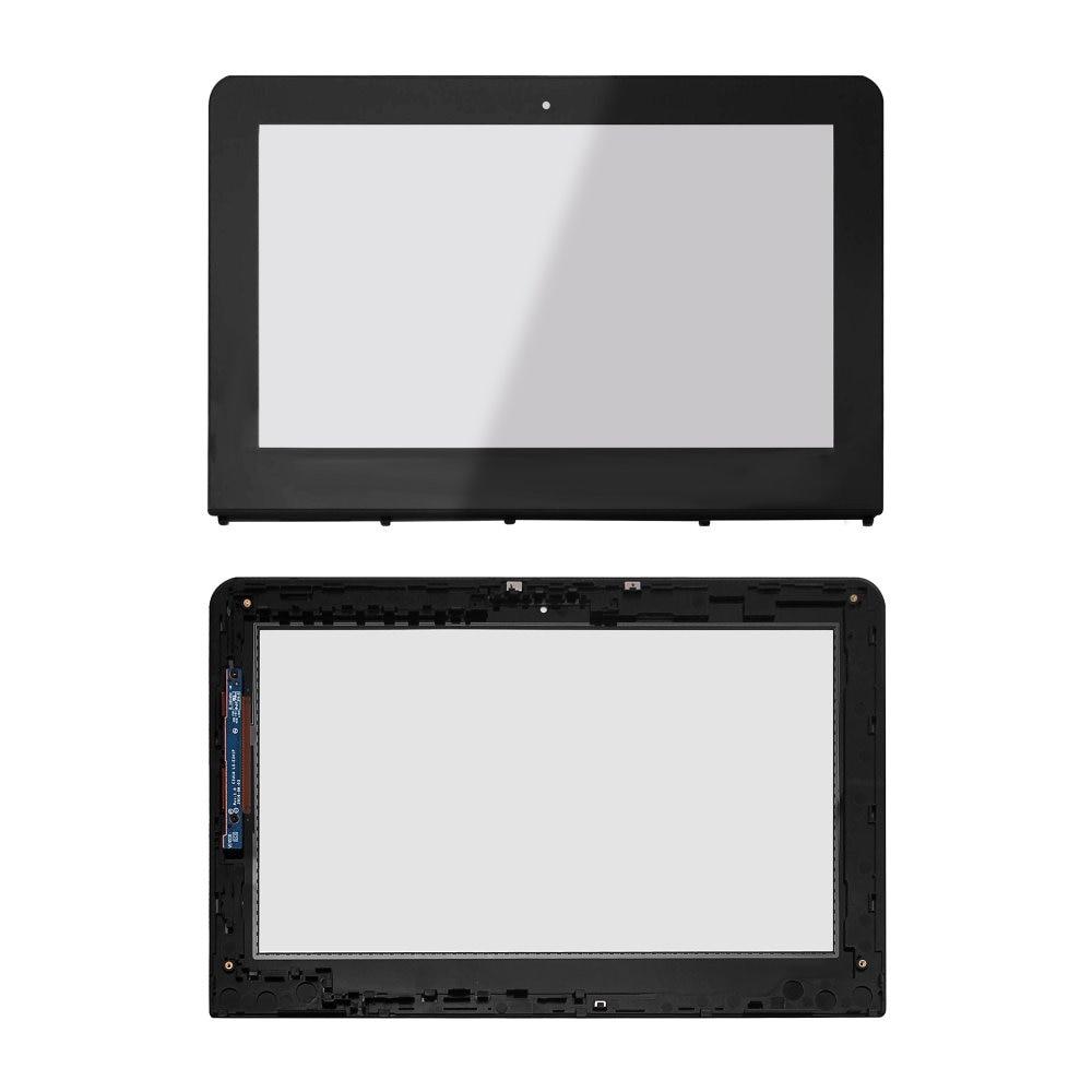 11.6' Touch Screen Digitizer Panel for HP Pavilion x360 11-ab002tu 11-ab033TU 11-ab024tu 11-ab027tu for hp pavilion touchsmart 11 series 11 e010au 11 e030ea 11 e030sa 11 e110nr 11 e019au touch screen digitizer sensor glass bezel