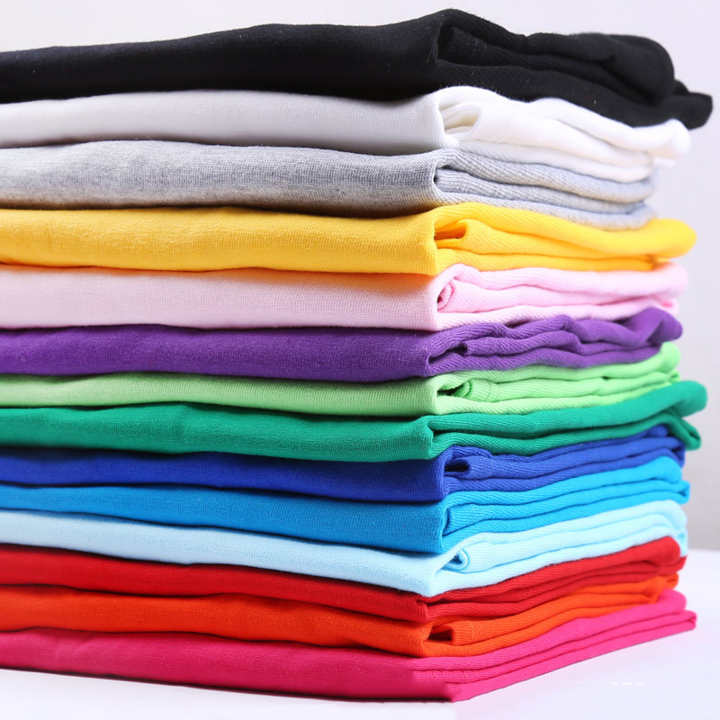 New Solid Multi-color T-shirt Black And White  Cotton T-shirt For Men Summer Skateboard T-shirt For Boys Skateboard T-shirt