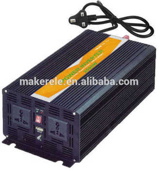 MKP2500-121B-C off grid pure sine wave dc ac 2500Watt 12v car inverters for car battery,low cost of inverter with charger image