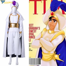 Adult Aladdin Lamp Prince Costume Halloween Anime Cosplay Fancy Dress Adam prince Costumes
