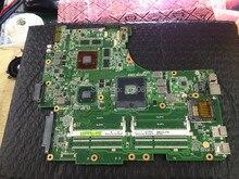 Nowy dla asus model n53sv rev 2.1/2.2 systerm gt540m 2 gb notebook płyta główna wsparcie i3 i5 i7