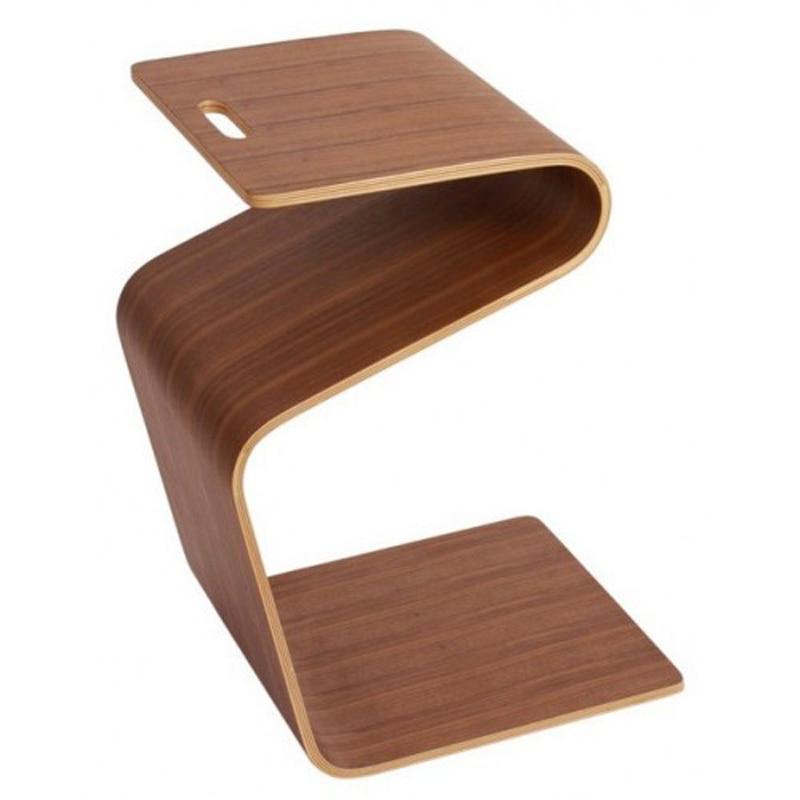 Table basse en bois pour salon W36 * D66 * H40 CM - 3