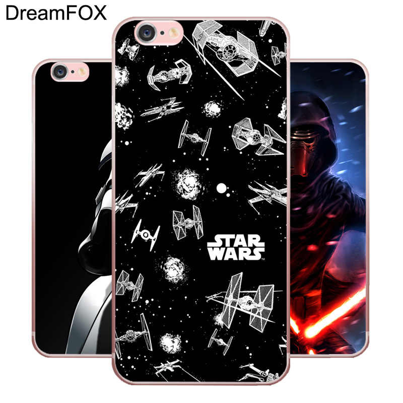 Мягкий силиконовый чехол DREAMFOX M264 Movie Star Wars из ТПУ для Apple IPhone X XR XS Max 8 7 6 6S Plus 5 5S SE 5C 4 4s