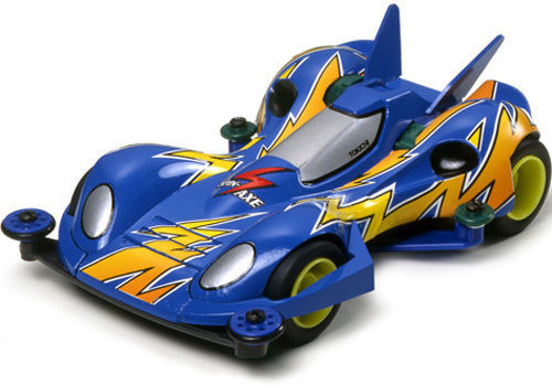 Tamiya 19404 Mini 4WD Racer 1/32 Spin Axe Super 1 Chassis Model Race Car Kit Free Shipping-in