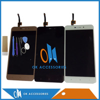 Black White Gold Color For 1280 720 5 0 Inch Redmi 4A LCD Display Touch Screen
