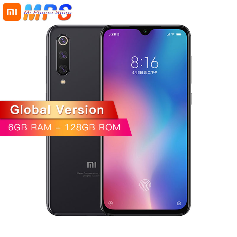 "Global Version Xiaomi Mi 9 SE 6GB 128GB Mobile Phone Mi9 SE Snapdragon 712Octa Core 5.97"" 48MP Triple Camera Fingerprint Phone"
