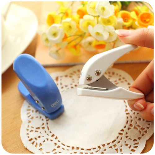 Mini Type 1 Hole Paper Punch 6mm Hole Scrapbooking Punches Furador