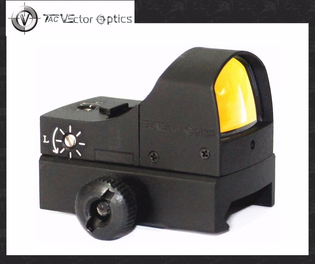 Vector Optics Sphinx 1x22 Auto Brightness Compact Red Dot Scope Doctor 3 MOA Reflex Sight