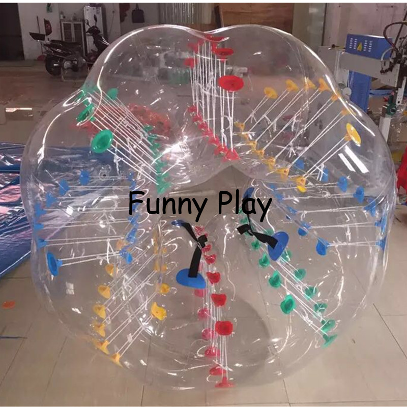 human hamster ball Sport PVC Air Bubble Children Play Game Air Bumper Ball Kids Body Zorb bubble Ball