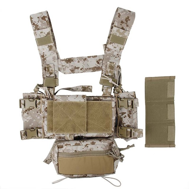 Details about  /New TMC-3115 Hunting Tactical Airsoft Vest Modular Chest Rig Set