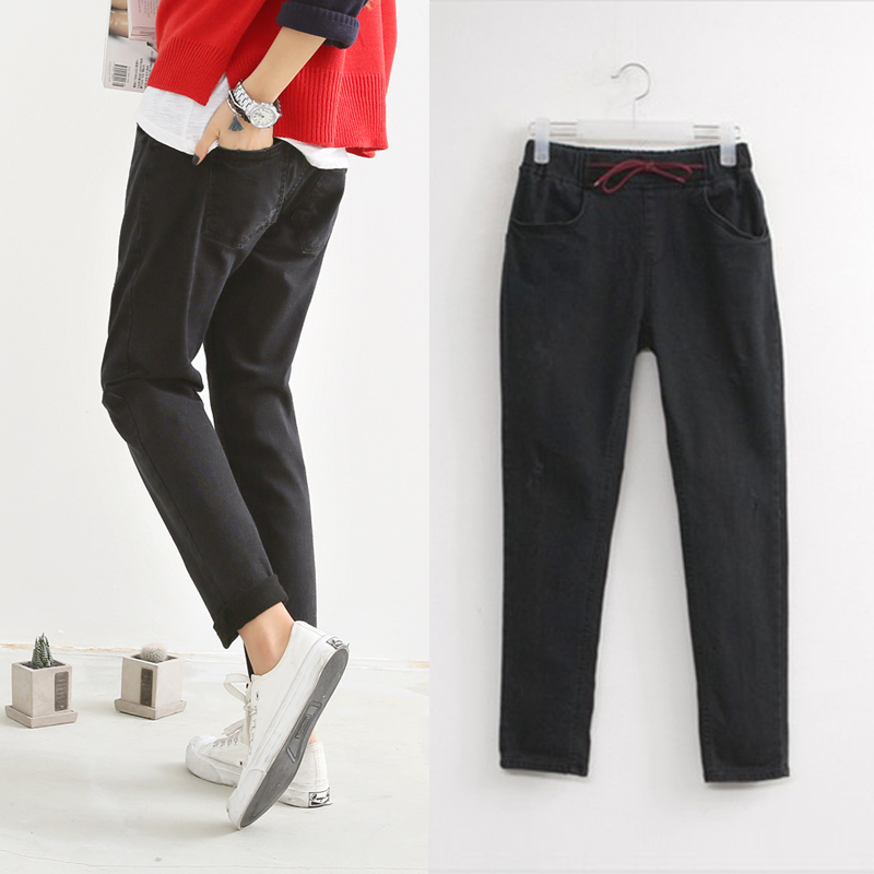 2016 Fashion Jeans women large size women pants slim jeans woman tights lady Jeans XL 4XL