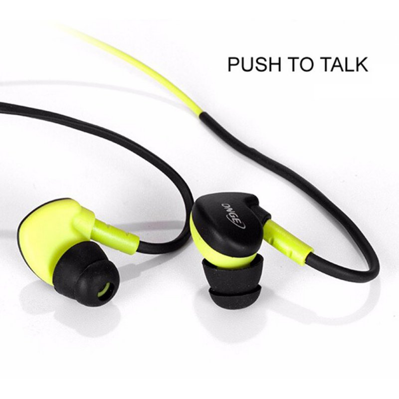 Original 3.5mm In-Ear Sport Earphone Earbuds Stereo Super Bass Earphones with MIC for iPhone Samsung Phones MP3 MP4