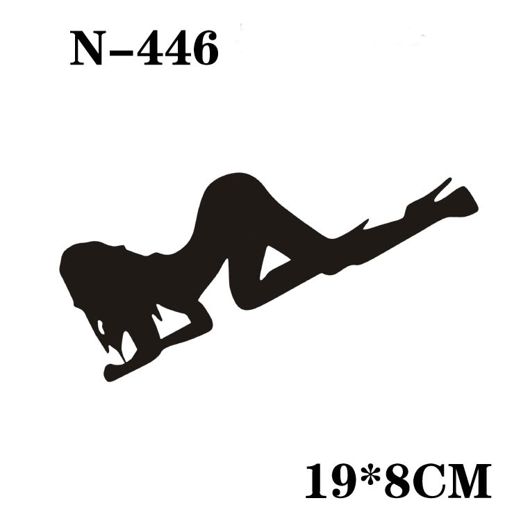New design car sticker vinyl decals sexy women reflective personalized waterproof stickers decoration car styling hot n 446 on aliexpress com alibaba