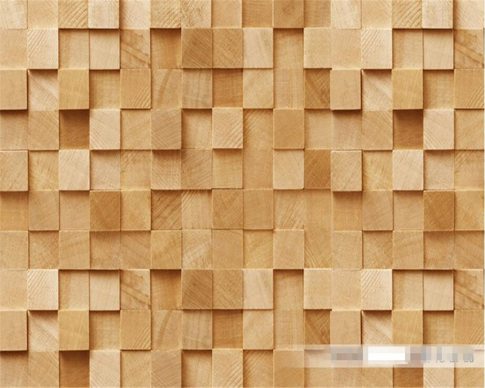 US $8 85 OFF Beibehang Custom Wallpaper 3D Stereo Wooden Wallpaper Modern Abstract Art Walls Wallpaper Living Room Bedroom Wallpaper