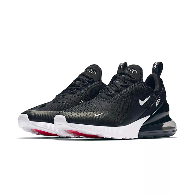 Original Nike Air Max 270 180 Mens Running Shoes Sneakers Sport Outdoor 2018 New Arrival Authentic Outdoor  Breathable Designer 1