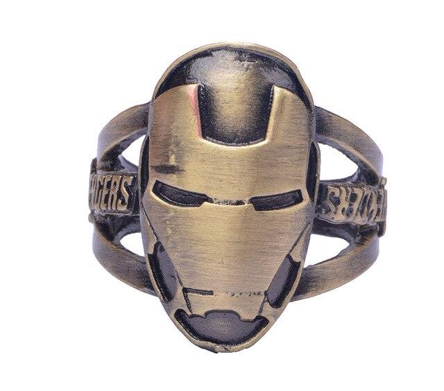 Кольцо с логотипом Железный человек Марвел 4
