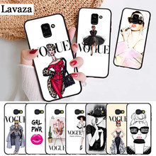 Lavaza VOGUE Christmas Princess Girl Silicone Case for Samsung A3 A5 A6 Plus A7 A8 A9 A10 A30 A40 A50 A70 J6 A10S A30S A50S(China)