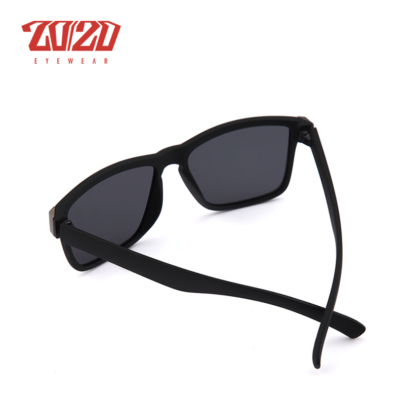 Classic Polarized Sunglasses Men Glasses Driving Coating Black Frame Fishing Driving Eyewear Brown