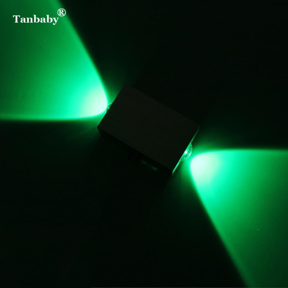 Tanbaby 2W 6W modern fal SCONCE világítás AC85-265V fali lámpák - Beltéri világítás