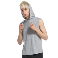 Hip Hop Style Men S Sleeveless Tank Tops Men Casual Hoody Vest Body Engineers Stringer Tank