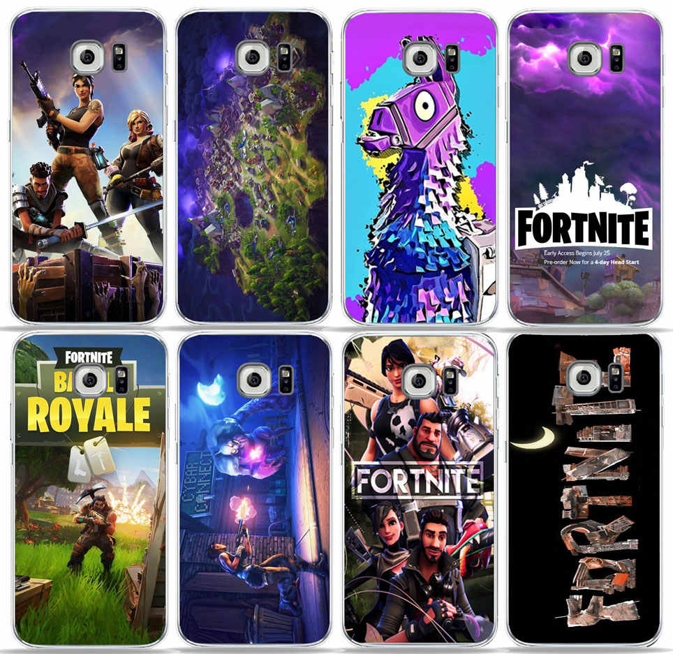 buy popular f30ff 585ec Detail Feedback Questions about PUNQZY Soft TPU Fortnite Clear Phone ...