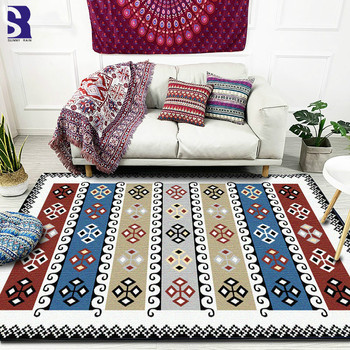 SunnyRain 1-piece Large Rug and Carpet for Living Room Area Rug For Bedroom Carpet Large Size Slipping Resistance
