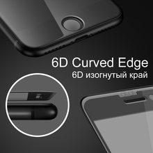 Iphone 6D Protective Glass For iPhone 6 6S 7 8 Plus X Protective Film Glass