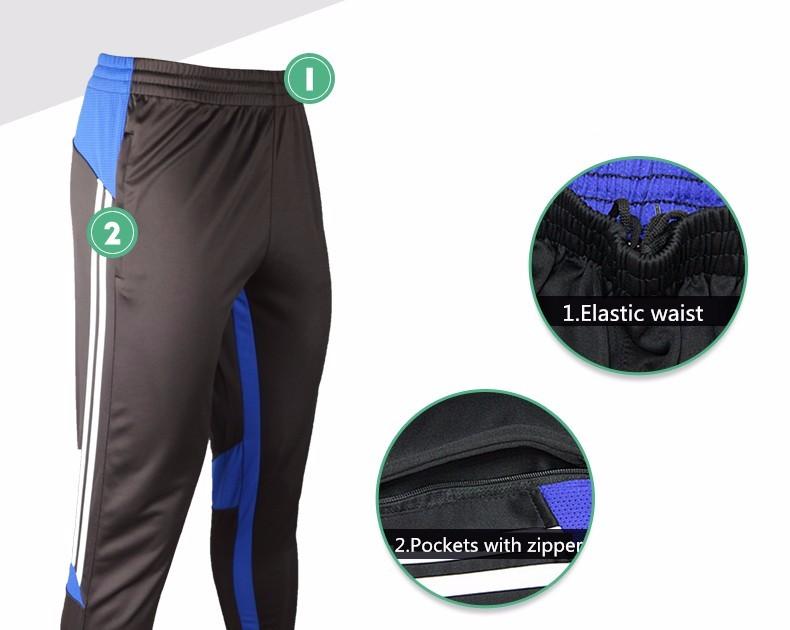 Soccer Training Pants Men Joggers Slim Skinny Jogging Running Tights Trousers Tracksuits Bottoms survetement football 2017