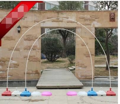 Pvc Rod Balloon Arch Shelf The Base Ring Clasp Removable