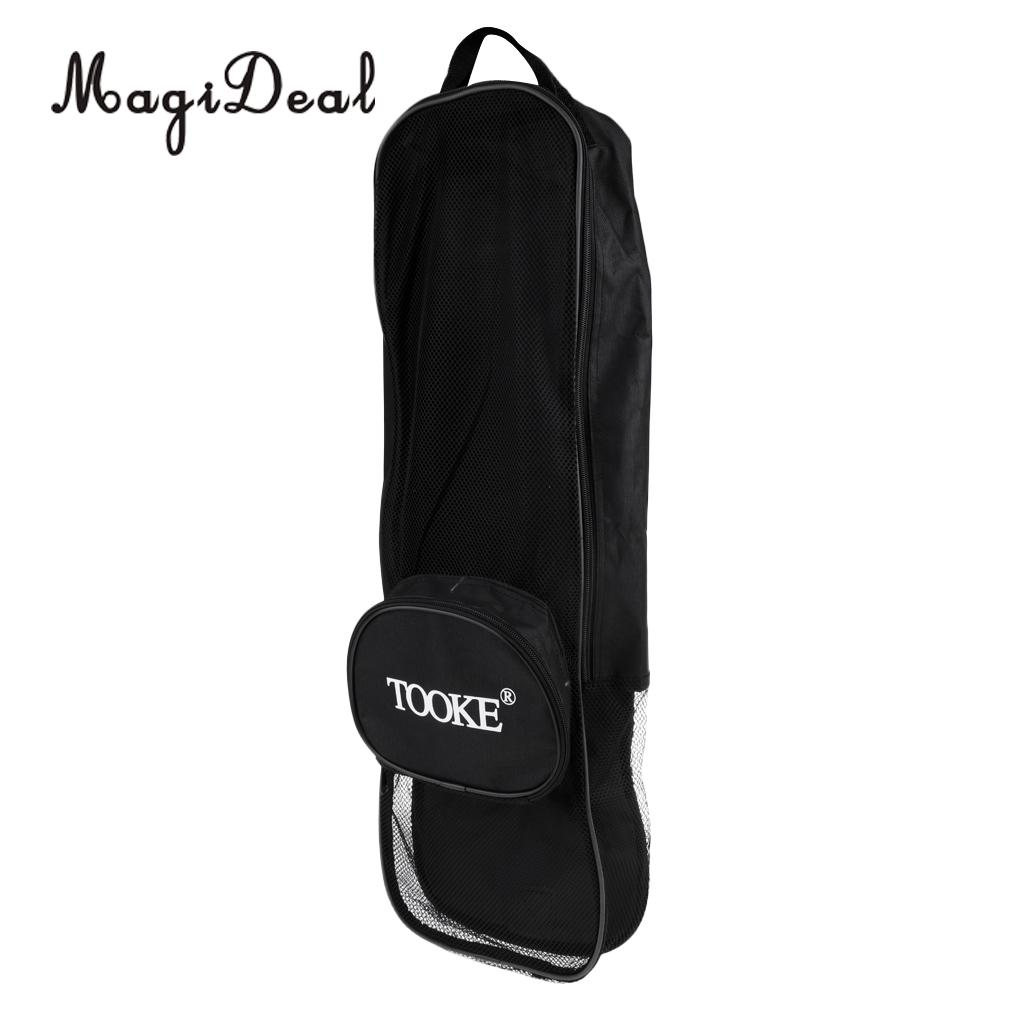 Magideal 1pc Scuba Diving Snorkeling Gear Bag Mesh Travel Backpack For Mask Fins Snorkel In Pool Accessories From Sports Entertainment On Aliexpress