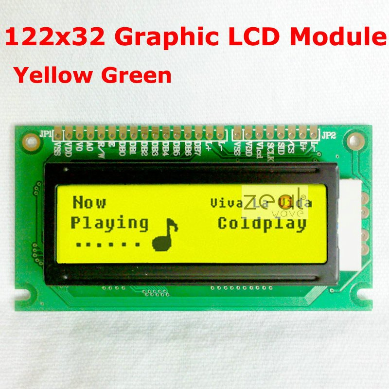 LCD Display 1602 2x16 Big Characters 5V 122*44MM Arduino Blue