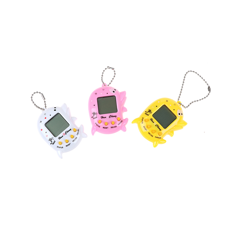 High Quality 168 IN 1 Dolphin Electronic Pets Toy Nostalgic Virtual Pet Toy Gift
