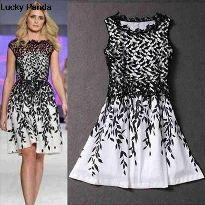 2016 Brand New Fashion Women Dresses Cheap Lace Vestido Plus Size
