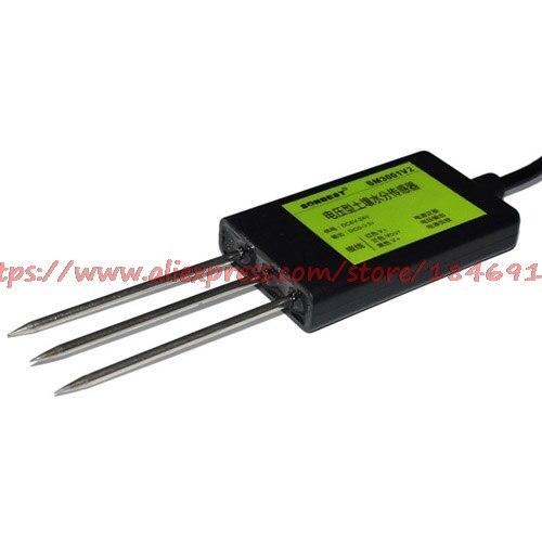 Sm3001v2 0 3.3 v tensão de saída tipo sensor de umidade do solo