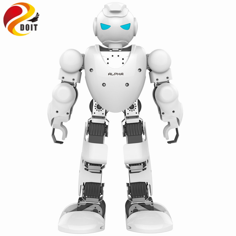 DOIT Alpha 1s Programmable Humaniod Robot Humanoid Alpha Robot for Intelligent Life Companion Entertainment Educational Robot lexicon alpha
