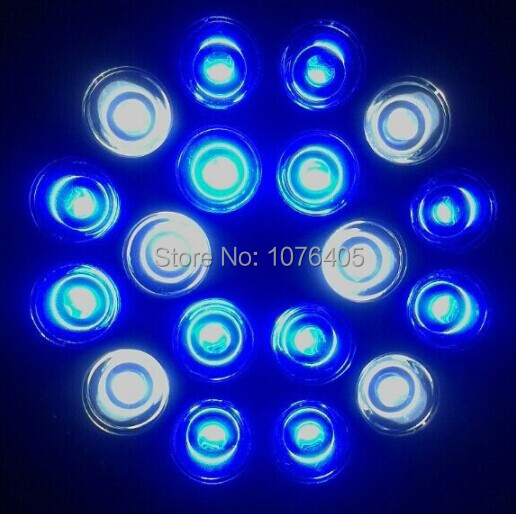 10pcs/lot LED Aquarium lamp 18w led grow light Coral Reef led light customize colors led lamp PAR38 for sps lps
