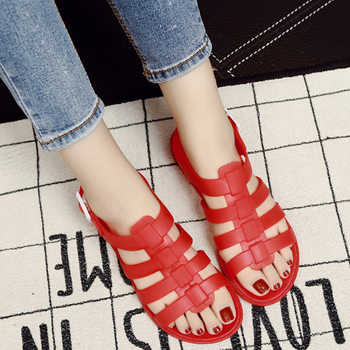 Summer Shoes Woman Fashion Sandals Casual Shoes Breathable Slippers Girls Plastic Mules Outdoor Lovers Feminino Buckle Clogs - DISCOUNT ITEM  30% OFF All Category