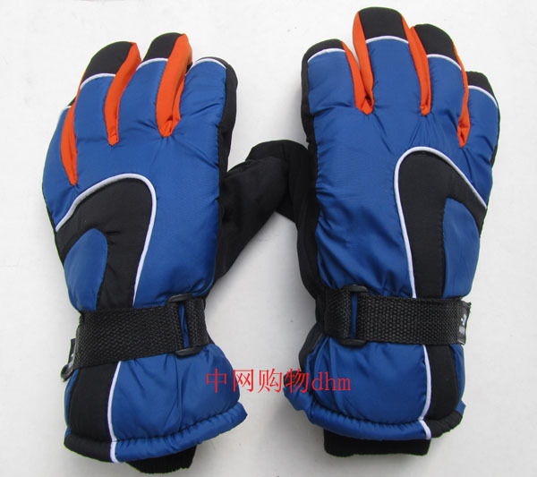 2011 male ski gloves male sports thickening cotton thermal gloves winter windproof