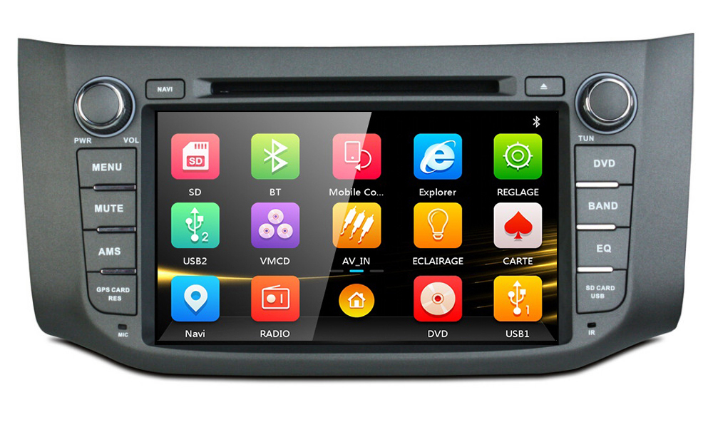 9 Car DVD player with GPS BT/TV,audio Radio stereo,car multimedia for NISSAN SYLPHY 2012 /Bluebird Sylphy 2012 /Sentra/Pulsar