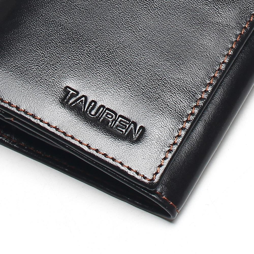 Купить с кэшбэком 100% Genuine Leather Cowhide High Quality Vintage Solid Color Men Long Wallet Coin Purse Vintage Designer Male Carteira Wallets