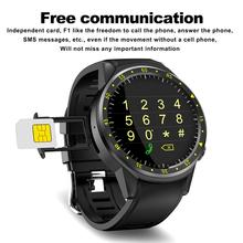 High-definition IPS Touch Screen MT2503 Chip GPS Sports Smart Phone Watch For IOS Android Samsung F1 Wearable Device With Camera