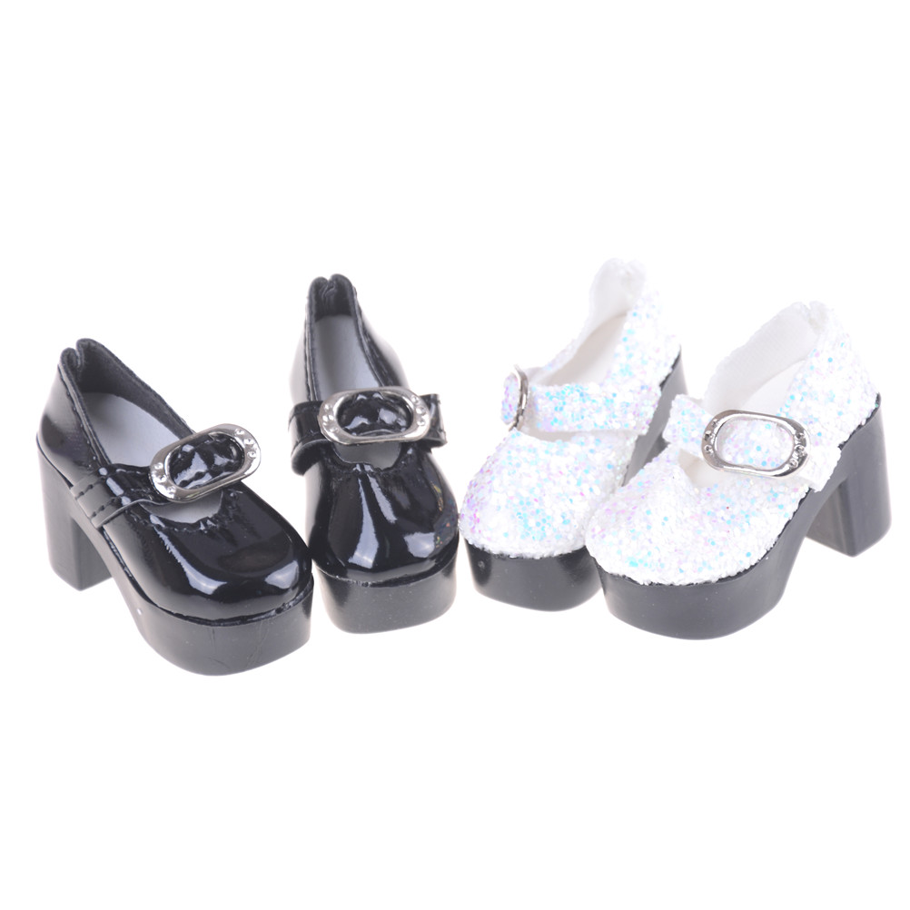 4ee06e7336 1Pair 2Pcs 1 4 Doll Shoes for BJD SD Dolls Bow High Heel Sandals for Barbie  Dolls Accessories Toys-in Dolls Accessories from Toys   Hobbies on ...
