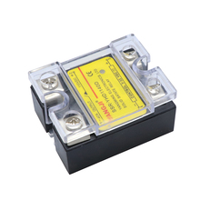 цена на SSRYHD1140D 40A Solid State Relay Module 3-32VCD relays DC control Single phase Solid State relays