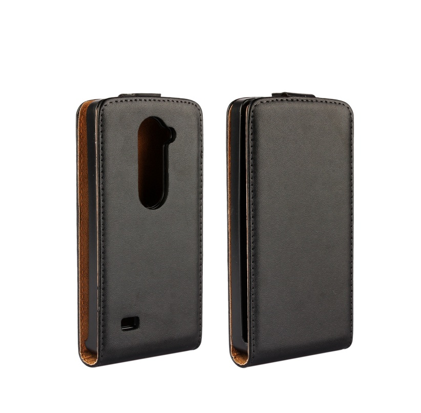 Vertical Flip Magnetic Leather <font><b>Case</b></font> Cover For <font><b>LG</b></font> <font><b>Leon</b></font> <font><b>4G</b></font> <font><b>LTE</b></font> H340N image