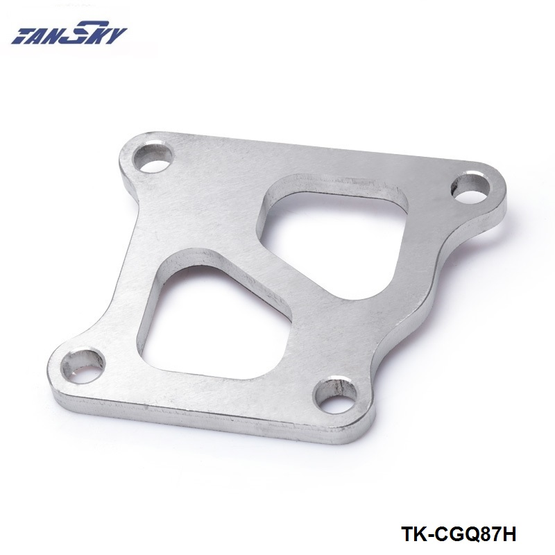 Turbo Dump Pipe Flange For Mitsubishi EVO VIII 3//8 4g63 Exhaust Outlet Pipe